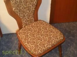 Rustikální židle - masiv, 2 kusy