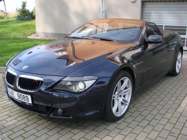 BMW Řada 6 630Ci kabrio, foto 1 Auto – moto , Automobily | spěcháto.cz - bazar, inzerce zdarma