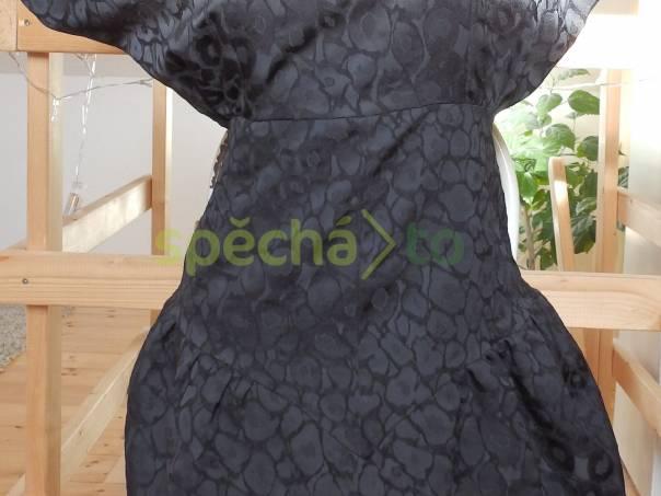 a535de9064 Nové černé Zara šaty s netopýřími rukávy