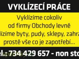 Vyklízení bytů Praha kompletní služby , Obchod a služby, Úklid a údržba  | spěcháto.cz - bazar, inzerce zdarma