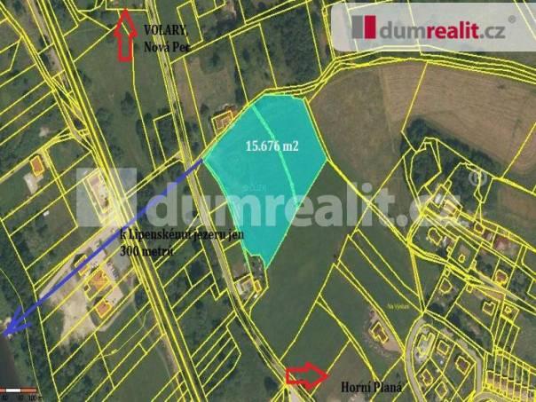 Prodej pozemku, Horní Planá, foto 1 Reality, Pozemky | spěcháto.cz - bazar, inzerce
