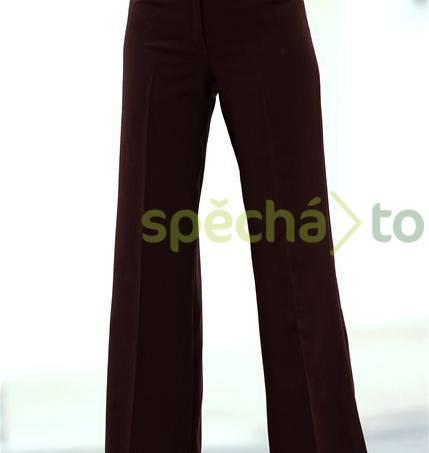 Elegantní kalhoty vel. 42, foto 1 Dámské oděvy, Kalhoty, šortky | spěcháto.cz - bazar, inzerce zdarma