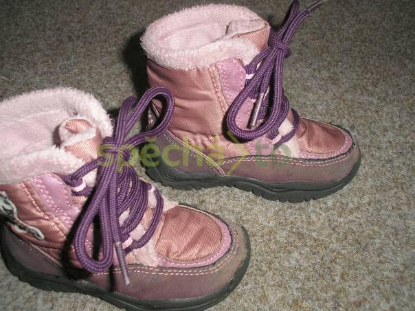 Zimní malé botičky, foto 1 Pro děti, Dětská obuv  | spěcháto.cz - bazar, inzerce zdarma