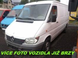 Mercedes-Benz Sprinter 211 CDI * 80 kW * , Užitkové a nákladní vozy, Do 7,5 t  | spěcháto.cz - bazar, inzerce zdarma