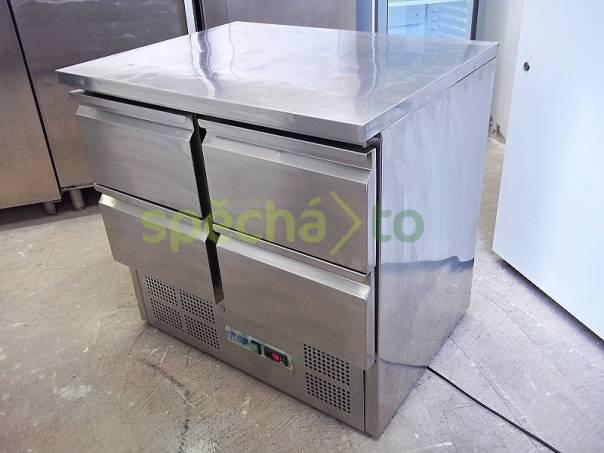 PROFI nerezový chladící stůl saladeta KBS S901-4D, foto 1 Bílé zboží, Chladničky a mrazáky | spěcháto.cz - bazar, inzerce zdarma