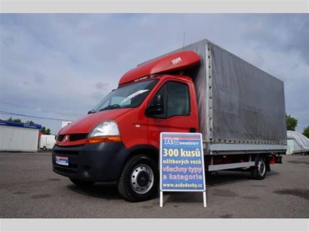 Renault Master 120dci/2.5 valník plachta 4m, foto 1 Užitkové a nákladní vozy, Do 7,5 t | spěcháto.cz - bazar, inzerce zdarma