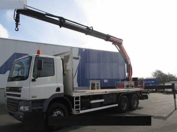 DAF  CF85.340 6x4, hydr.ruka, foto 1 Užitkové a nákladní vozy, Nad 7,5 t | spěcháto.cz - bazar, inzerce zdarma