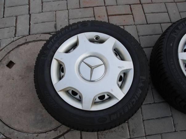Mercedes-Benz  PLECH DISKY + ZIMNÍ PNEU, foto 1 Náhradní díly a příslušenství, Osobní vozy | spěcháto.cz - bazar, inzerce zdarma