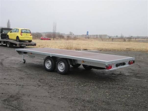 VER 2,7T 6,03/2,06 - plato, foto 1 Užitkové a nákladní vozy, Přívěsy a návěsy | spěcháto.cz - bazar, inzerce zdarma