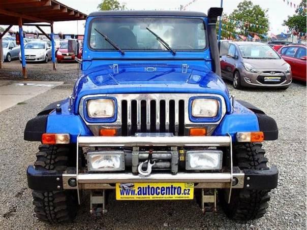 Jeep Wrangler 4.2 LPG - STAVBA -, foto 1 Auto – moto , Automobily | spěcháto.cz - bazar, inzerce zdarma