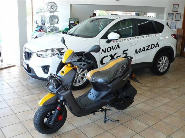 Kentoya  HAMMER 125 4T, foto 1 Auto – moto , Motocykly a čtyřkolky | spěcháto.cz - bazar, inzerce zdarma