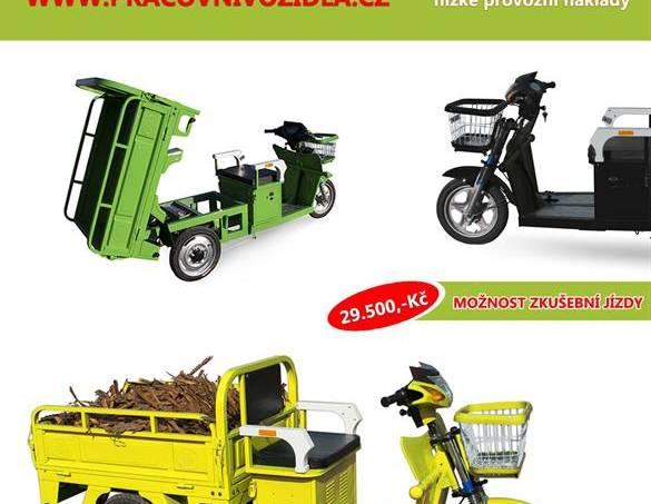 Nákladní elektro pracovní tříkolka Advento, foto 1 Auto – moto , Motocykly a čtyřkolky | spěcháto.cz - bazar, inzerce zdarma
