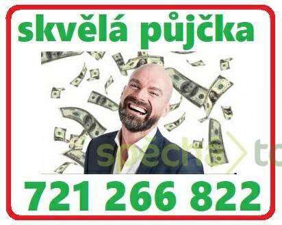 Půjčka ihned bez registru TOP NA TRHU PŮJČEK 721266822, foto 1 Obchod a služby, Finanční služby   spěcháto.cz - bazar, inzerce zdarma