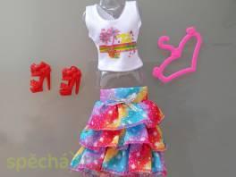 NOVÉ! Set pro panenku Barbie, tričko + sukýnka + boty + ramínko , Pro děti, Hračky  | spěcháto.cz - bazar, inzerce zdarma