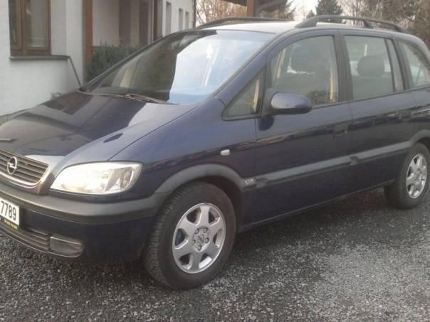 Opel Zafira 1.6 16V 7míst KLIMA, foto 1 Auto – moto , Automobily   spěcháto.cz - bazar, inzerce zdarma