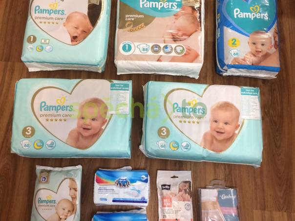 Pampers plenky + dárek, foto 1 Pro děti, Zdraví a hygiena   spěcháto.cz - bazar, inzerce zdarma