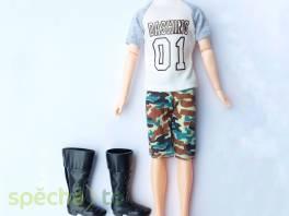 NOVÉ! Šet pro Kena (od Barbie) tričko + kraťasy + kozačky , Pro děti, Hračky  | spěcháto.cz - bazar, inzerce zdarma