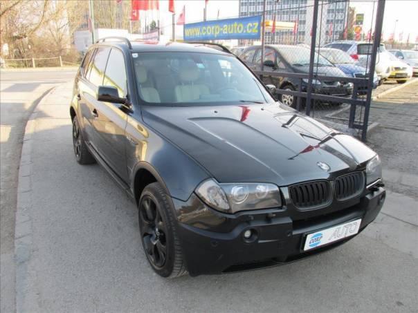 BMW X3 3,0 M PAKET,KŮŽE,NAVI, foto 1 Auto – moto , Automobily | spěcháto.cz - bazar, inzerce zdarma