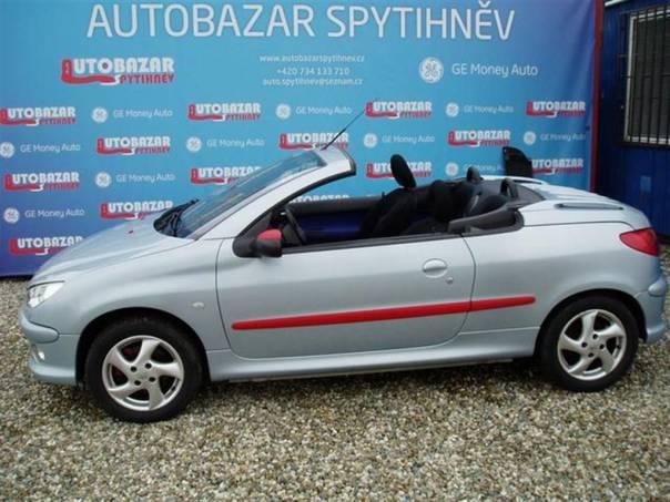 Peugeot 206 1,6 CC 1,6i 80 kW kabrio, foto 1 Auto – moto , Automobily | spěcháto.cz - bazar, inzerce zdarma