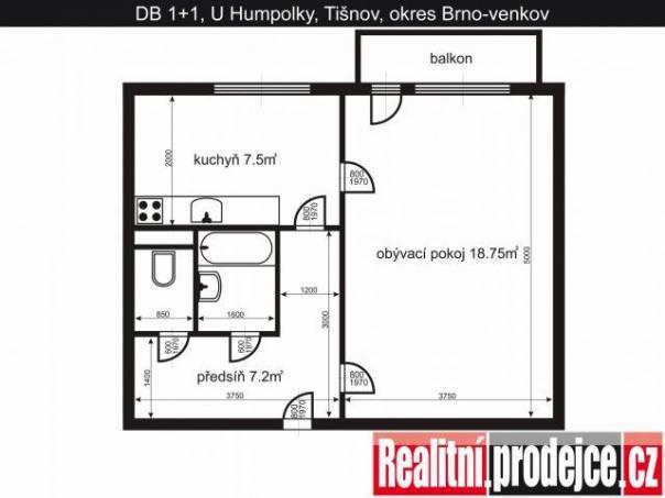 Prodej bytu 1+1, Tišnov, foto 1 Reality, Byty na prodej | spěcháto.cz - bazar, inzerce