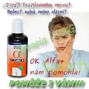 Zánět trojklanného nervu, bolesti zubů a dásní, foto 1 Móda a zdraví, Kosmetika | spěcháto.cz - bazar, inzerce zdarma