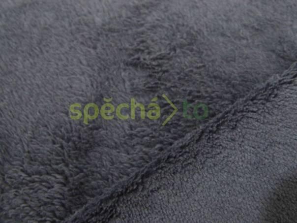 Oboulícní fleece metráž - fialková 9bbe46fb853