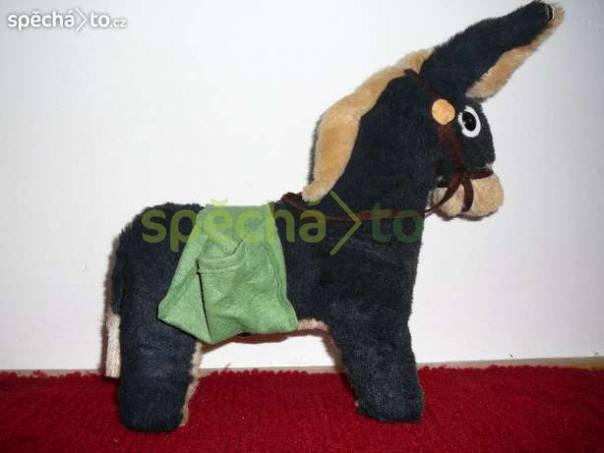 Plyšový oslík - výška včetně uší 39 cm, foto 1 Pro děti, Hračky | spěcháto.cz - bazar, inzerce zdarma