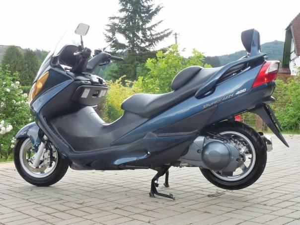 Suzuki Burgman 400i, foto 1 Auto – moto , Motocykly a čtyřkolky | spěcháto.cz - bazar, inzerce zdarma