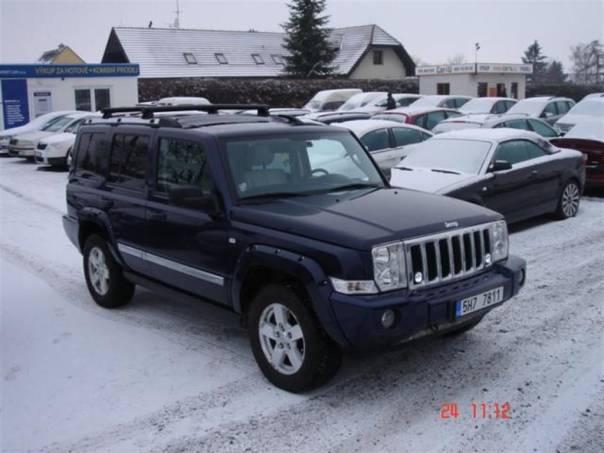 Jeep Commander 3.0 CRD Limited *výměna možná*, foto 1 Auto – moto , Automobily | spěcháto.cz - bazar, inzerce zdarma