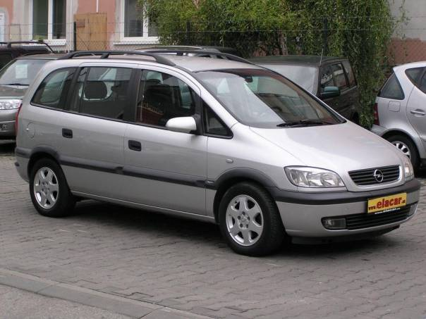 Opel Zafira 2.0 DI 16V 7 míst, foto 1 Auto – moto , Automobily | spěcháto.cz - bazar, inzerce zdarma