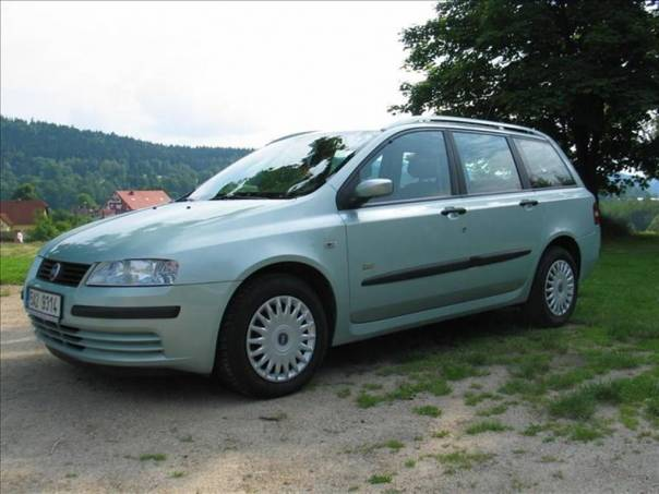 Fiat Stilo 1,4 16V,6ti kvalt,SERVISKA,klima  MULTI WAG. FAMILY, foto 1 Auto – moto , Automobily | spěcháto.cz - bazar, inzerce zdarma