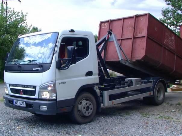 Mitsubishi Canter kontejnerový nosič 7,5t Mitsub.Fuso 7C15 + CTS5038, foto 1 Auto – moto , Automobily | spěcháto.cz - bazar, inzerce zdarma