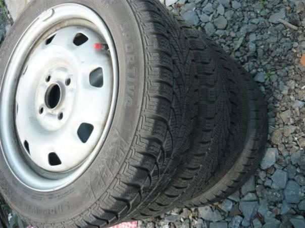 Sada pneu Hyundai Getz, foto 1 Náhradní díly a příslušenství, Ostatní | spěcháto.cz - bazar, inzerce zdarma