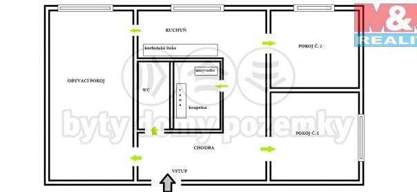 Prodej bytu 3+1, Borotín, foto 1 Reality, Byty na prodej | spěcháto.cz - bazar, inzerce
