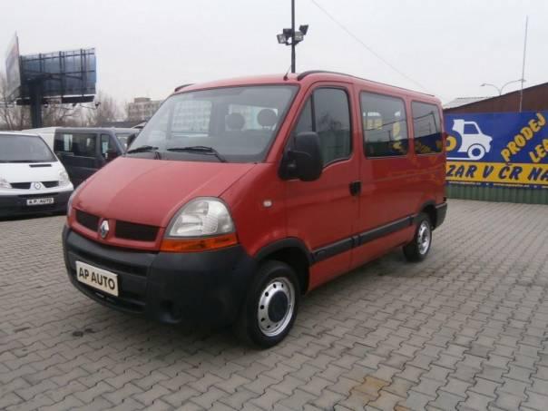 Renault Master L1H1 6MÍST KLIMA 1.9DCI, foto 1 Užitkové a nákladní vozy, Do 7,5 t | spěcháto.cz - bazar, inzerce zdarma