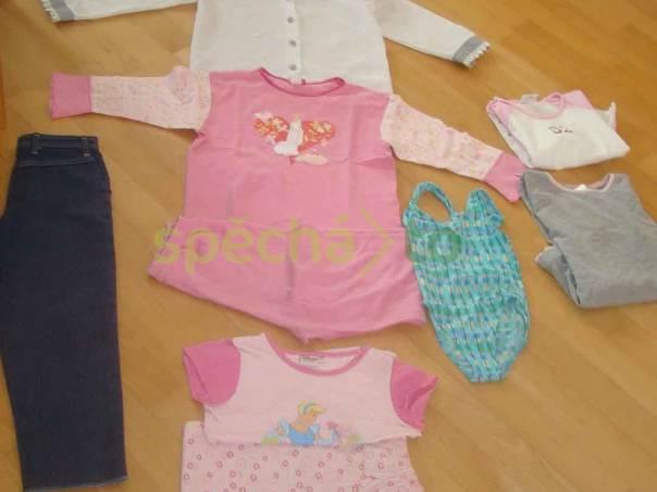 e6ae6c62a0e set oblečení vel. 116 - 122 pro holku - 7 ks