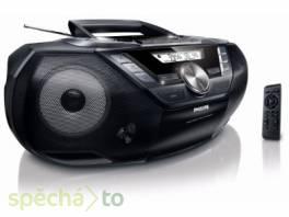 Prodám málo používaný radiomagnetofon s CD Phlips AZ3856 , TV, audio, video, Hudební přehravače  | spěcháto.cz - bazar, inzerce zdarma