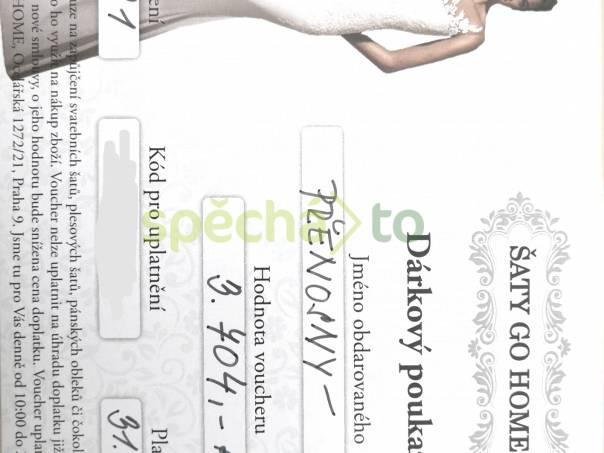 Dárkový poukaz půjčovné šatů ŠATY GO HOME, foto 1 Obchod a služby, Půjčovny, opravny | spěcháto.cz - bazar, inzerce zdarma