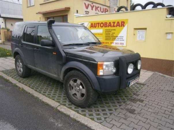 Land Rover Discovery 2,7 TDV6  MANUAL, foto 1 Auto – moto , Automobily | spěcháto.cz - bazar, inzerce zdarma
