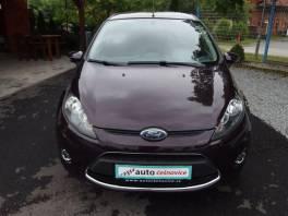 Ford Fiesta 1,25i koupeno v ČR,servisní kniha