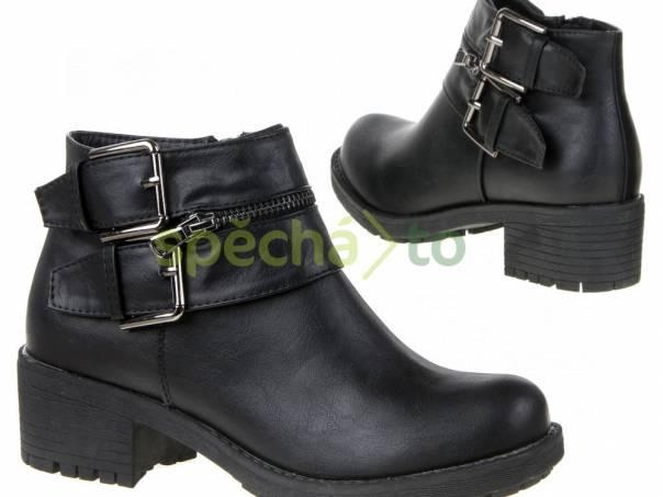 Dámské podzimní jarní kotníkové boty nové-vel.36  c13ddbcc40