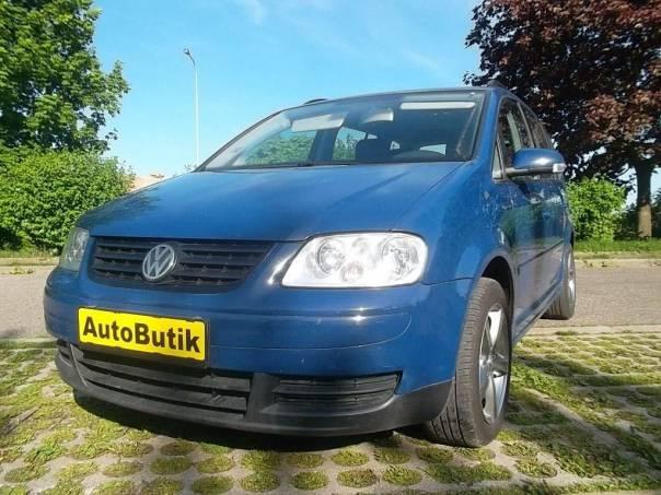 Volkswagen Touran 1,9 TDI  77KW, foto 1 Auto – moto , Automobily | spěcháto.cz - bazar, inzerce zdarma