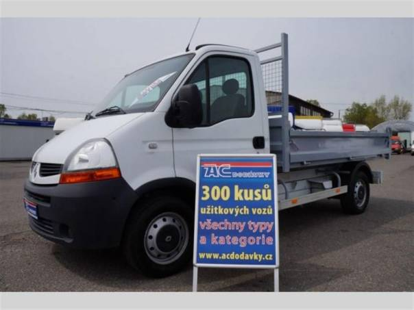 Renault Master 2,5 DCI sklápěč, foto 1 Užitkové a nákladní vozy, Do 7,5 t | spěcháto.cz - bazar, inzerce zdarma