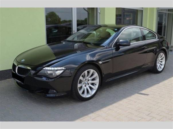 BMW Řada 6 635d DISTRON+HEAD-UP+NAVI+1A+, foto 1 Auto – moto , Automobily | spěcháto.cz - bazar, inzerce zdarma
