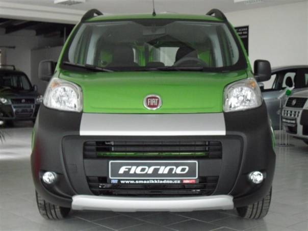 Fiat Fiorino combi 1,3 MTJ 95k Adventure, foto 1 Užitkové a nákladní vozy, Do 7,5 t | spěcháto.cz - bazar, inzerce zdarma