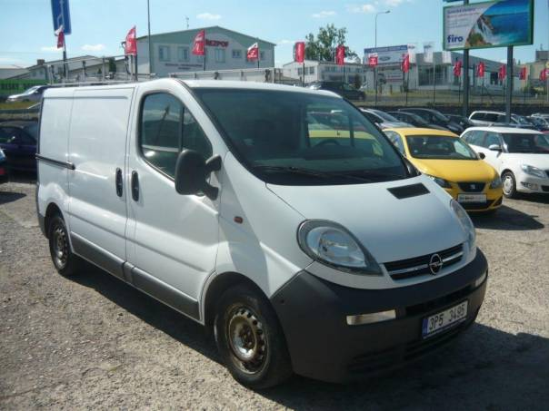Opel Vivaro 2,5 TDi, foto 1 Užitkové a nákladní vozy, Do 7,5 t | spěcháto.cz - bazar, inzerce zdarma
