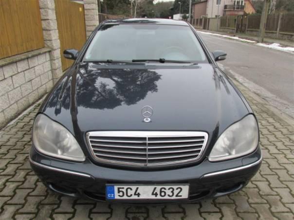 Mercedes-Benz Třída S w220 320CDi 145kw, foto 1 Auto – moto , Automobily | spěcháto.cz - bazar, inzerce zdarma