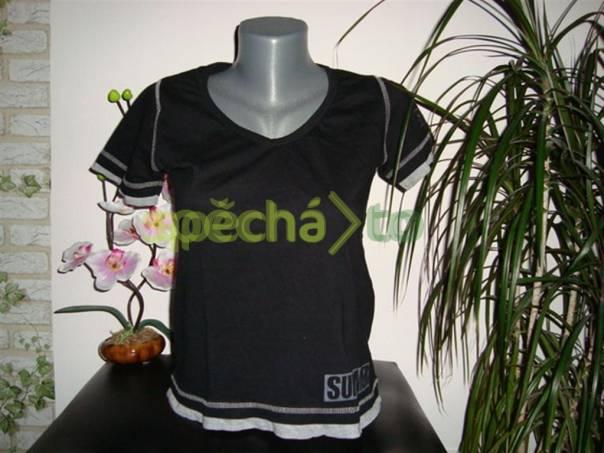 Pěkné dámské tričko zn.X-Mail styl 2v1 vel. S, foto 1 Dámské oděvy, Halenky, trička, tílka | spěcháto.cz - bazar, inzerce zdarma