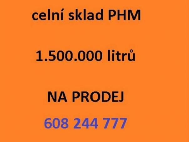 celní sklad PHM 1,5 mil. litrů, foto 1 Náhradní díly a příslušenství, Ostatní | spěcháto.cz - bazar, inzerce zdarma