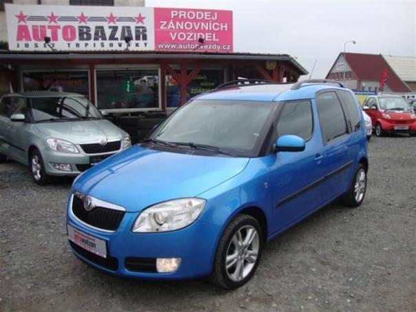 Škoda Roomster 1.4 TDI 59kW S.KNIHA PANORAMA, foto 1 Auto – moto , Automobily | spěcháto.cz - bazar, inzerce zdarma
